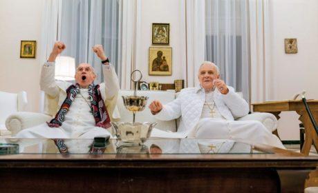 Przychodzi papież do papieża…